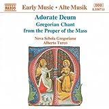 Adorate Deum (Gregorianische Gesänge des Propriums)