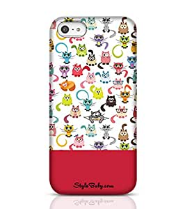 Style baby Cats Apple iPhone 5 Phone Case