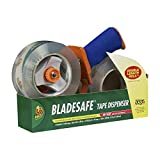 Duck Brand BladeSafe Tape Gun Dispenser with 2-Roll Pack of 109-Yard Tape (926458)