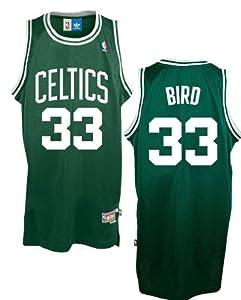 Adidas Larry Bird Boston Celtics Embroidered Replica Throwback Basketball Jersey by adidas