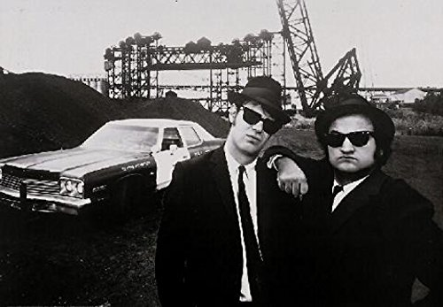 Blues Brothers - Belushi & Aykroyd Stampa D'Arte (69 x 48cm)