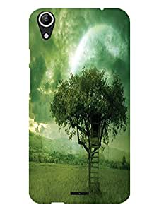 TREECASE Designer Printed Back Case Cover For Micromax Canvas Selfie Lens Q345