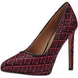 Amazon Com Nine West Women S Tictok Suede Dress Pump Shoes