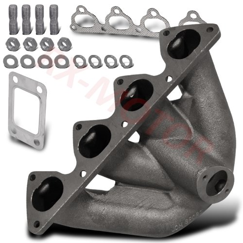 B16 B18 Dohc Vtec Turbo Charger Top Mount Exhaust Manifold Cast Iron Civic Dc2 (Intake Manifold For B18 compare prices)