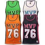 Mens American Baseball College Vest Soul Star Mesh Top MVP Stars Print Summer ELK