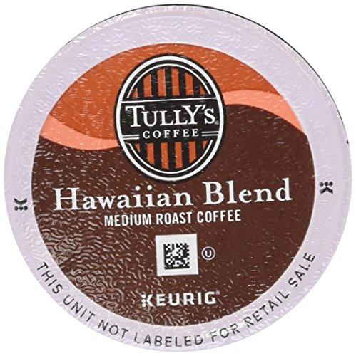 Keurig, Tully's Hawaiian Blend, Medium Roast Coffee Extra Bold 24 K-Cup Single Serve Packs (Keurig Hawaiian compare prices)