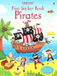 First Sticker Book Pirates (Usborne F...