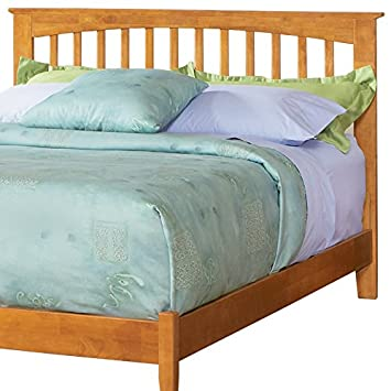 Atlantic Furniture P-90857 Brooklyn King Headboard in Caramel Latte