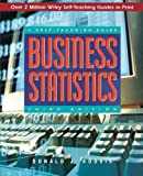 img - for Business Statistics: A Self-Teaching Guide (Wiley Self-Teaching Guides) book / textbook / text book