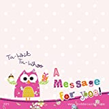 OWL STICKY NOTE POST ITS PAD - 100 x 100 mm, 80 sheets