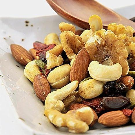 砂糖不使用 無添加 ドライフルーツ & 素焼き 無塩 ミックスナッツ お徳用 500g »