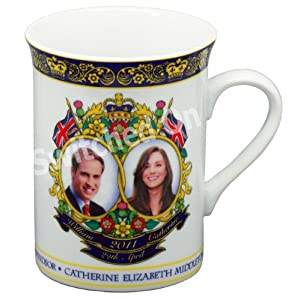 Kate & William Royal Wedding Souvenir Fine China Ceramic Mug
