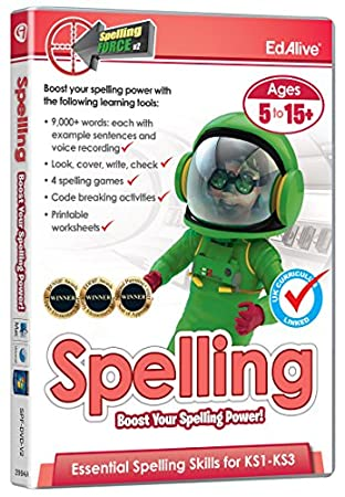 Spelling Force V2 (PC/Mac)