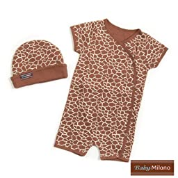 Giraffe- Hat & Body Suit