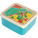 Lunch Box Vintage World Map