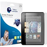Tech Armor Kindle Fire HD 7 Inch Antiglare Screen Protector 3-Pack