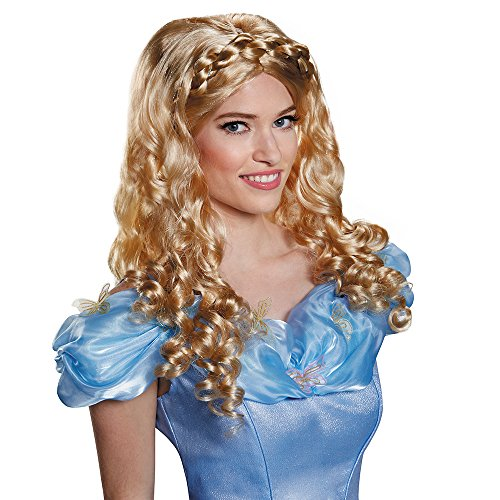 Disguise Women's Cinderella Movie Adult Costume Wig