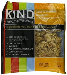 FREE SAMPLE - Kind Oats & Honey Clusters Granola (Free with purchase of a qualifying item)