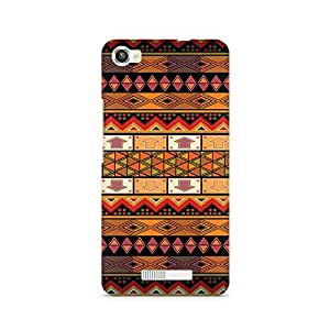 Mobicture Vintage Tribal Arrow Printed Phone Case for Lava Iris X8