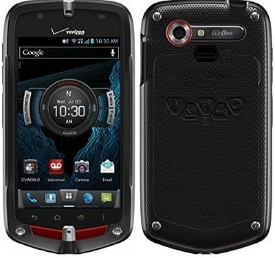 Casio G'zOne Commando 4G LTE C811 Verizon Android Rugged Android Smart Phone (Latest Model)