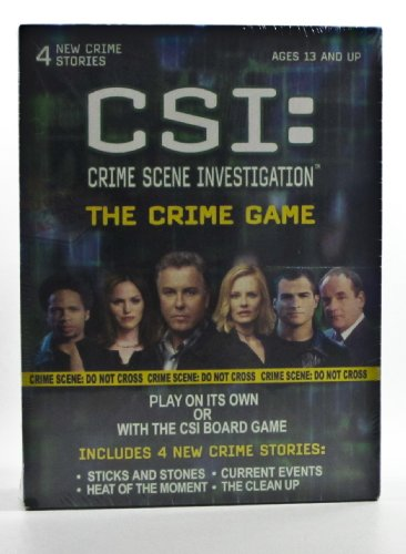CSI: Crime Scene Investigation - The Crime Game - 1