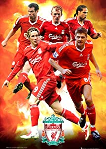 Gb Eye Ltd Maxi Poster Liverpool Fc Players 0910 61x915cm