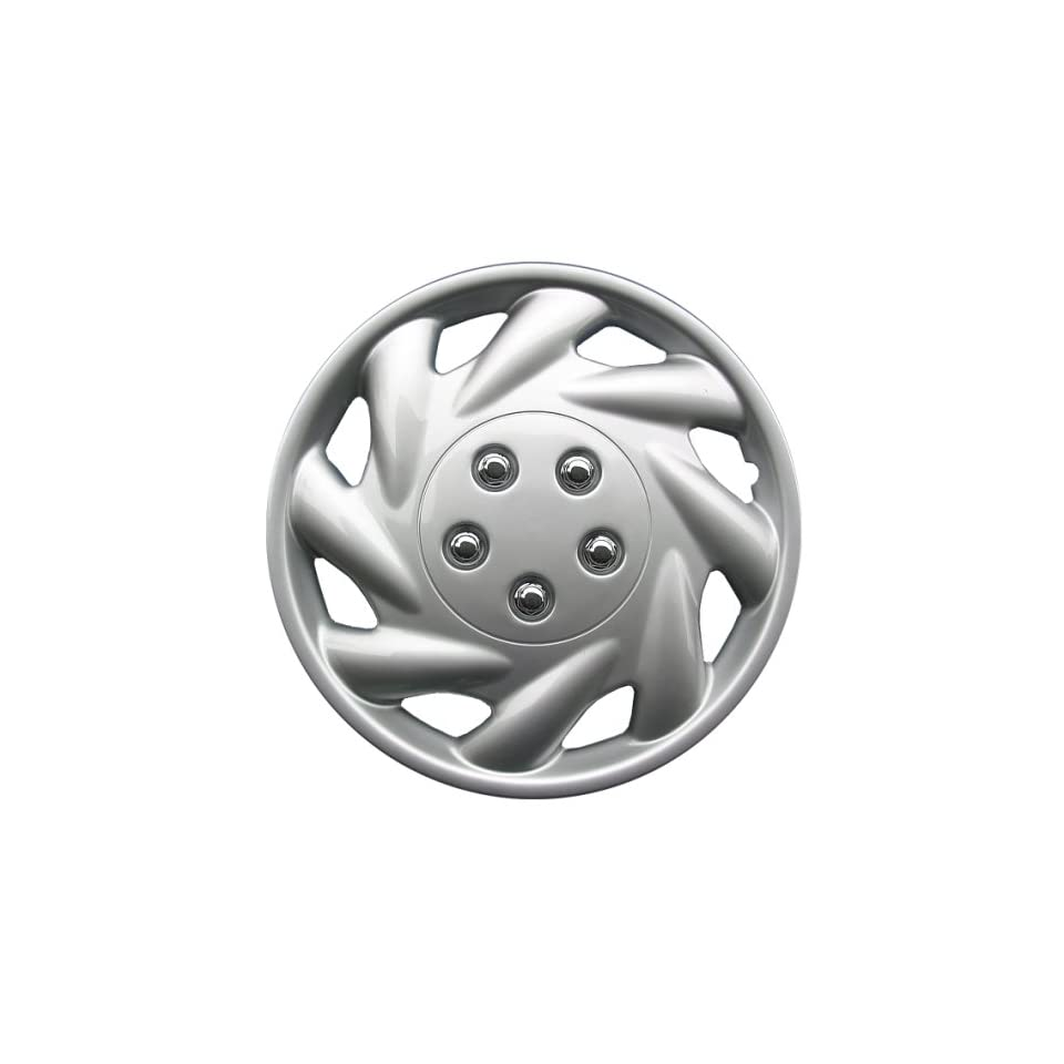 Drive Accessories KT 869 15S/L, Saturn, 15 Silver Replica Wheel Cover, (Set of 4)