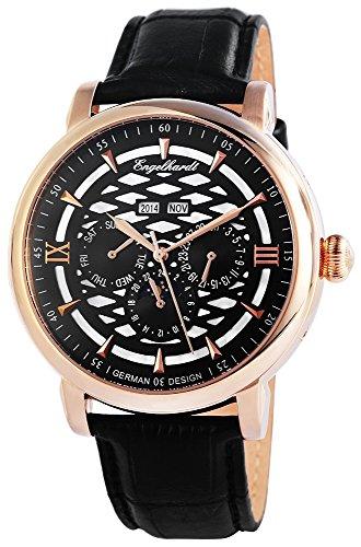 Engelhardt Men's Watch XL Analogue Automatic Leather 388531029004