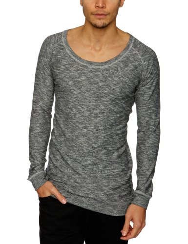 Nunc N13-1252 Kelly Crew Knit Men's Jumper Melange Small