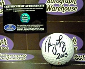 Nancy Lopez autographed golf ball by Autograph Warehouse
