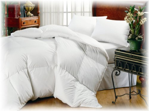 Organic Comfort Down Alternative Comforter. King Light (Organic Duvet Insert King compare prices)