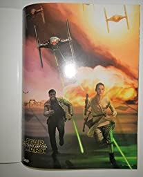 Star Wars: The Force Awakens Episode VII 8.5 x 11 Inches 12 Action Wall Posters In 1 Book