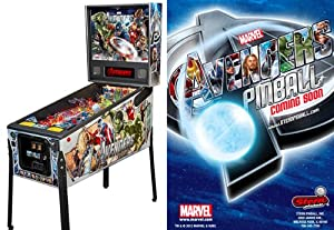 Stern Avengers Pro Pinball Arcade Game Machine by Stern