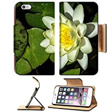 buy Apple Iphone 6 Plus Iphone 6S Plus Flip Pu Leather Wallet Case Beautiful Close Up Photo Of Blooming White Water Lily In A Water Garden Photo Has Image 29829875 By Msd Customized Premium