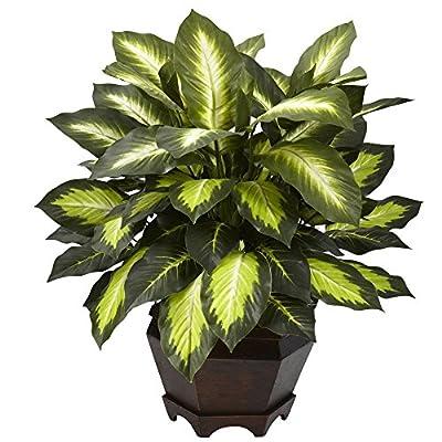 Nearly Natural Triple Golden Dieffenbachia Silk Plant
