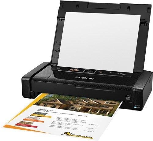 Epson WorkForce WF-100 Wireless Color Mobile Printer (Certified  Refurbished) - P87261   hqg vn
