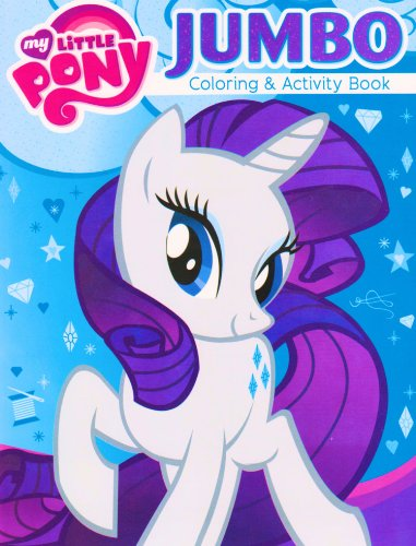 My Little Pony® Coloring and Activity Book - Featuring RARITY the Unicorn! - 1