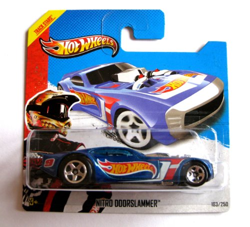 Hot Wheels Nitro Doorslammer blaumetallic 1:64