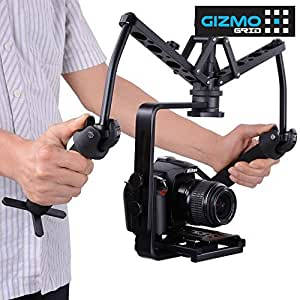 Spider Steadicam Handheld Video Stabilizer Steady Rig Gimbal Shock Absorber stand for Action, Wedding, Filmmakers, support all DSLR Camera Camcorder Canon, Nikon, Sony, Panasonic, Pentax [ GizmoGrid