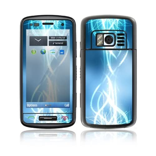 Electric Tribal Design Decorative Skin Cover Decal Sticker for Nokia C6 01 Cell Phone
