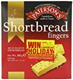 Paterson's Shortbread Fingers 380 g (Pack of 13)