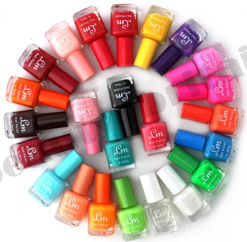 24 X Nail Polish Varnish Set 24 Different Colours Wholesale The Best Gift Uk By Liangmei