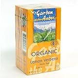 レモンバーベナティー ガーデンオブアンデス 有機JAS認定オーガニックハーブティー ティーバッグ20袋×4箱セット