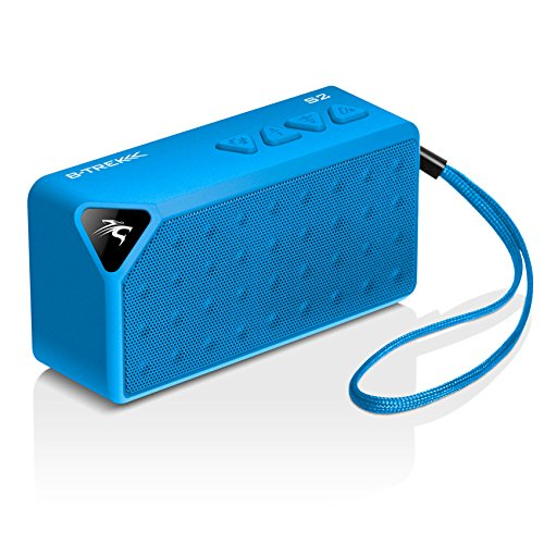 Images for Sentey® Bluetooth Speaker B-Trek S2 (BLUE) up 6 Hours - Built-in Mic for Handsfree- 10 Meter - 33 Foot Range - Rechargeable & Removable Lithium Ion Battery - Wireless - Mini Size - AUX Line in & microSD Card Slot Allows Music Playback From Various Sources / Works for Iphone, Ipad Mini, Ipad 4/3/2, Itouch, Blackberry, Nexus, Samsung and Other Smart Phones and Mp3 Players