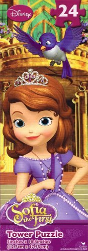 Sofia The First Tower Puzzle Pack - 24 Pieces Each - Set of 3 - 1