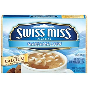 Amazon.com : Swiss Miss Hot Cocoa Mix with Mini Marshmallows, 10 Count ...