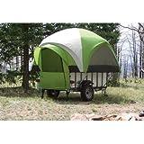 LittleGiant TreeHaus Camper Tent and Utility Trailer - Sleeps 4, Model# LGT 1107-T-THC