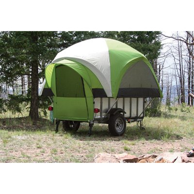 Littlegiant Treehaus Camper Tent And Utility Trailer - Sleeps 4, Model# Lgt 1...