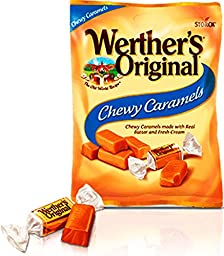 Werthers Original Chewy Caramels 2.4 Oz (Pack of 6)