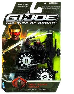 G.I. Joe Rise of Cobra Red Fang Ninja Figure